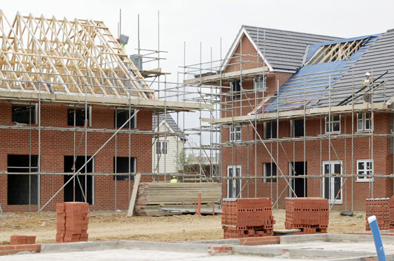 Is house building really at the lowest level since the for Build your new home